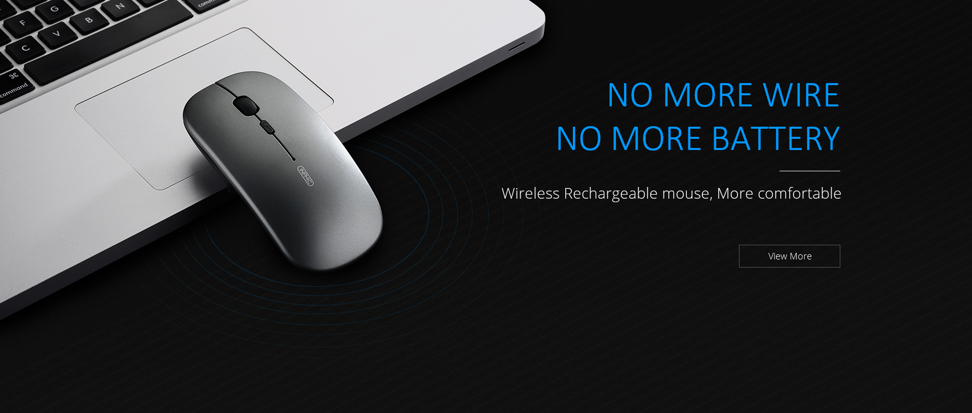 inphic PM-1 2.4G wireless mouse with rechrageable function