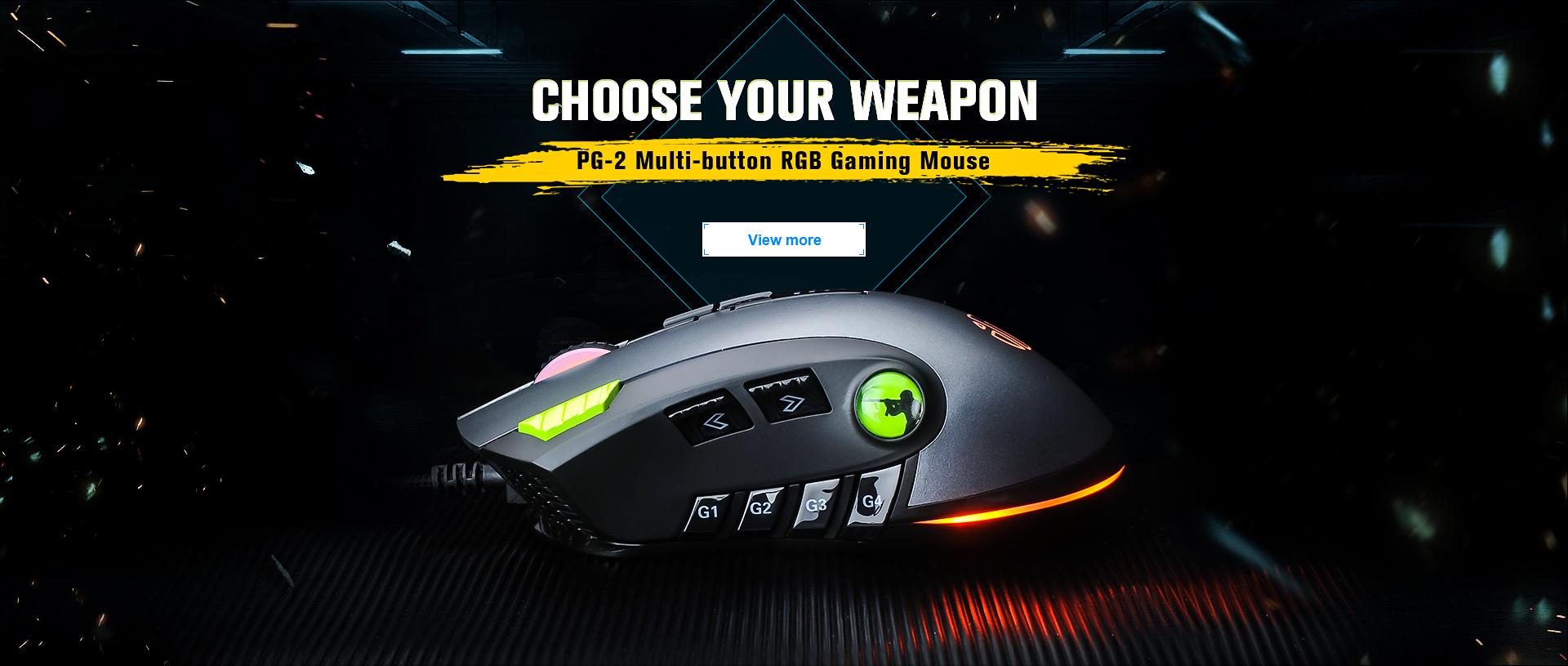 inphic PG-2 gaming mouse